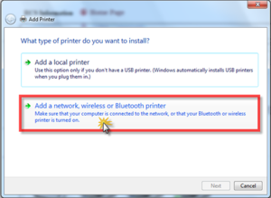 Windows7 Add a network printer.png